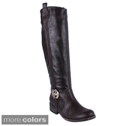 DBDK Women's Denniza-4 Knee-high Riding Boots