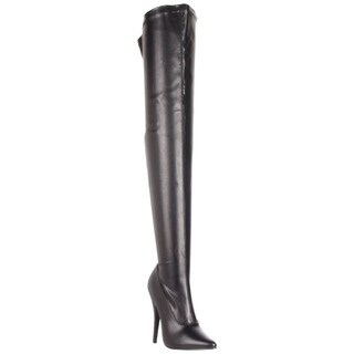Pleaser Women's 'Domina-3000' Thigh-high Stiletto Boots