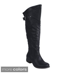 Blossom Women's 'Zoey-2W' Knee-high Riding Boots