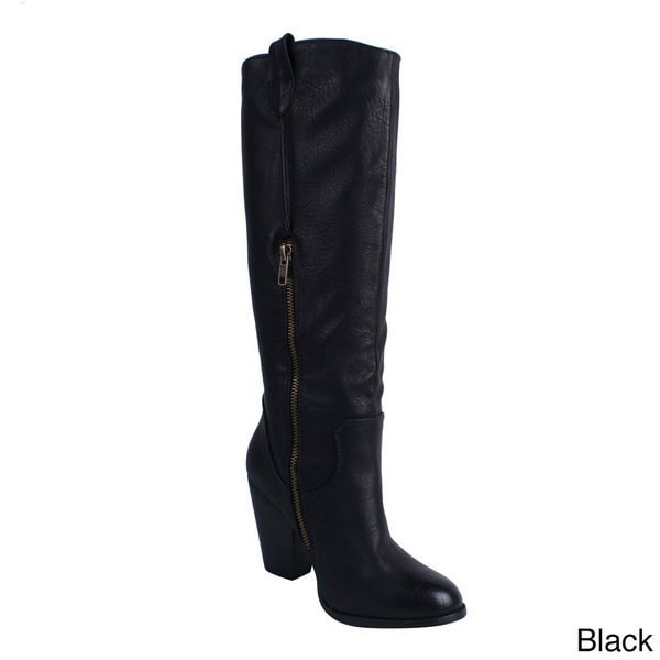 Blossom Women's 'INGRID-1' Knee-high Riding Boots