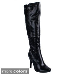 Blossom 'DUBAI-12' Women's Pointed Over-the-knee High Boots