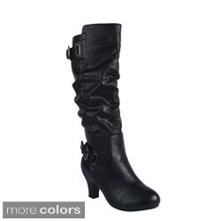 Blossom Women's 'BRAND-31' Knee-high Boots
