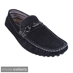 J'S AWAKE Men's 'KENNY-90' Driving Moccasin Shoes