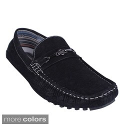 Men's 'Kenny-95' Denim Slip-on Driving Loafers