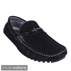 Men's 'Kenny-95' Denim Slip-on Driving Loafers