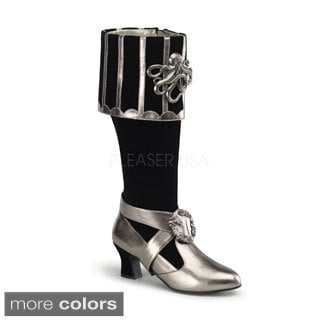 Funtasma Women's 'CTHULHU-299' Cuffed Knee-high Boots