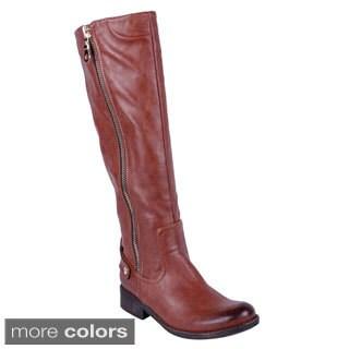 DBDK Women's 'DENNIZA-3' Knee-high Riding Boots