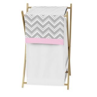 Sweet JoJo Designs Chevron Laundry Hamper