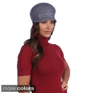 Swan Women's Velvet Ribbon Crusher Cap