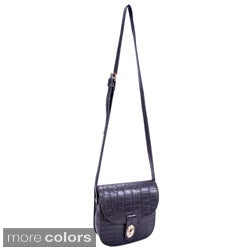 Parinda Maya Textured Faux Leather Crossbody Bag