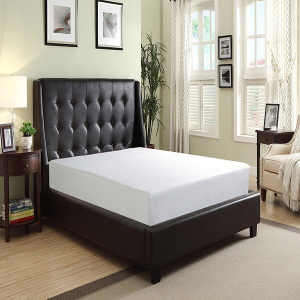 Ruby 8-inch Queen-size Memory Foam Mattress