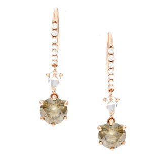 Diamonds For A Cure 18k Gold 3 1/6ct TDW Diamond Earrings (H-I, SI1-SI2)