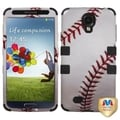 BasAcc Baseball/ Black TUFF Case for Samsung Galaxy S4