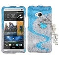 BasAcc Ballerina Chain 3D Diamante Case for HTC One/ M7