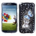 BasAcc Butterfly Lovers Diamante Case for Samsung Galaxy S4 1337