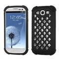 BasAcc Square Studs TotalDefense Case for Samsung Galaxy S III/ S3