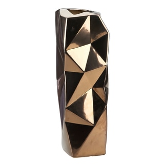 IMPULSE! Bronze 'Wrinkle' Vase