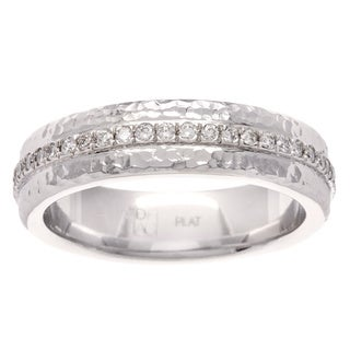Diamonds For A Cure Platinum 1/2ct TDW Diamond Wedding Band (H-I, SI1-SI2)