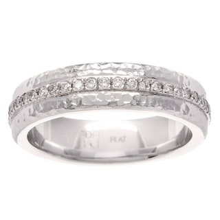 Diamonds For A Cure Platinum 1/2ct TDW Band (H-I, SI1-SI2)