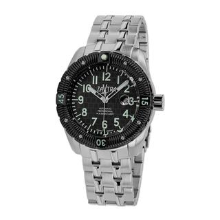 Zavtra Men's 'T-37 9015 Sea to Land Automatic LE' Bracelet Watch
