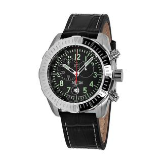 Zavtra Men's 'T-37 8171 Air to Ground Chrono Edition' Black Dial Watch