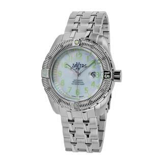 Zavtra Men's 'T-37 9015 Sea to Land Automatic Edition' Bracelet Watch