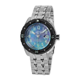 Zavtra Men's 'T-37 9015 Sea to Land Automatic Edition' Stainless Steel Watch