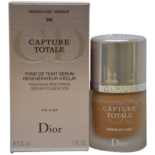 Dior Capture Totale Radiance 040 Honey Beige Restoring Serum Foundation