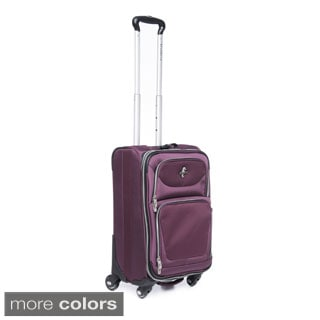 Atlantic Compass 2 21-inch Expandable Carry-on Spinner Upright Suitcase