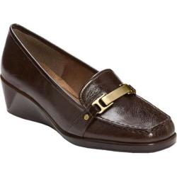Women's A2 by Aerosoles Autemn Brown Patent