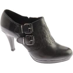 Women's Anne Klein Warrena Black Leather