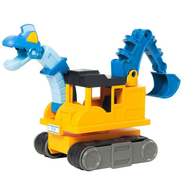 Educational Insights Dino Construction Company Boom the Brachiosaurus Backhoe 11707245