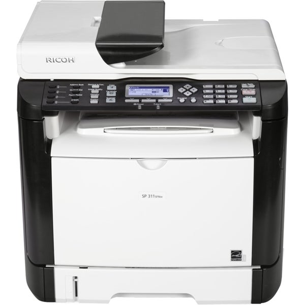 Ricoh SP 311SFNW Laser Multifunction Printer - Monochrome - Plain Pap