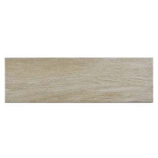 SomerTile 6 x 19.75-inch 'Legna Haya' Ceramic Floor and Wall Tile (Case of 13)