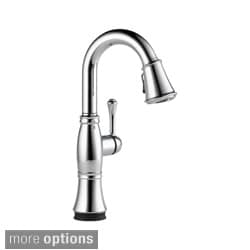 Delta Cassidy Single Handle Pull-Down Bar/Prep Faucet with Touch2O? Technology