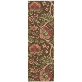 Nourison Waverly Global Awakening Chocolate Runner Rug (2'6 x 8')