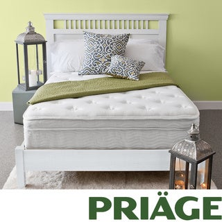 Priage Euro Box Top 13-inch King-size iCoil Spring Mattress