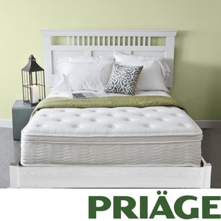 Priage Euro Box Top 12-inch King-size iCoil Spring Mattress