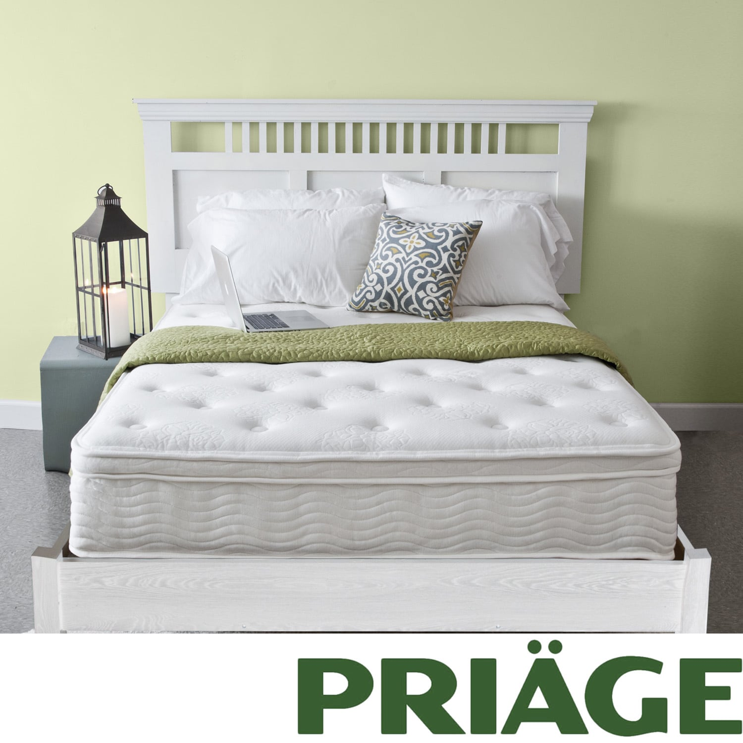 Priage Euro Box Top 12-inch Full-size iCoil Spring Mattress at Sears.com