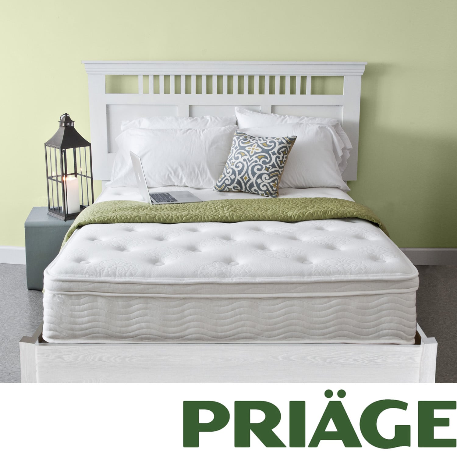 Priage Euro Box Top 12-inch Twin-size iCoil Spring Mattress at Sears.com