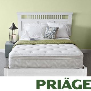 Priage Euro Box Top 12-inch Twin-size iCoil Spring Mattress
