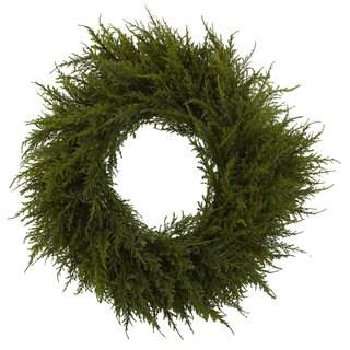 24-inch Cedar Wreath