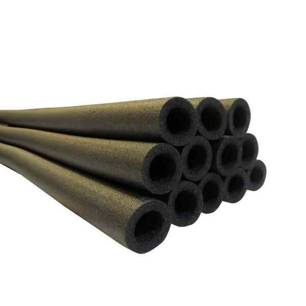 Upper Bounce 37-inch Black Trampoline Pole Foam Sleeves (Set of 16)
