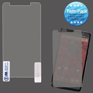 INSTEN Clear Screen Protector Twin Pack for Motorola XT1080 Droid Ultra