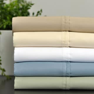 600 Thread Count Cotton Rich Sheet Set with Bonus Pillowcases (6-piece Set)