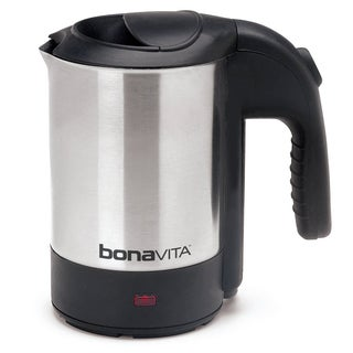 Bonavita Stainless Steel 0.5-liter BonaVoyage Electric Travel Kettle