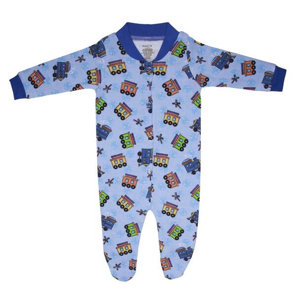 Funkoos All Aboard Organic Sleepsuit