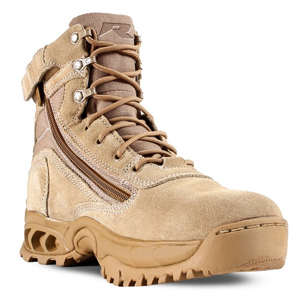 Desert Storm Men S Sand Suede And Nylon Work Boots