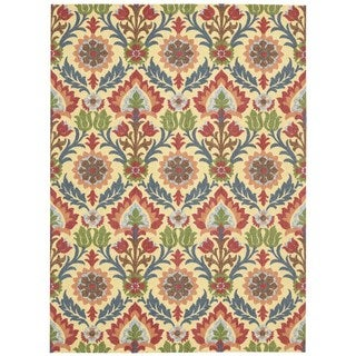 Waverly Global Awakening by Nourison Spice Area Rug (5'x7')