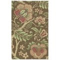 Nourison Waverly Global Awakening Chocolate Rug (4'x6')